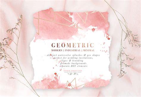 free printable wedding invitation watercolor diy geometric watercolor wedding invitation backgrounds