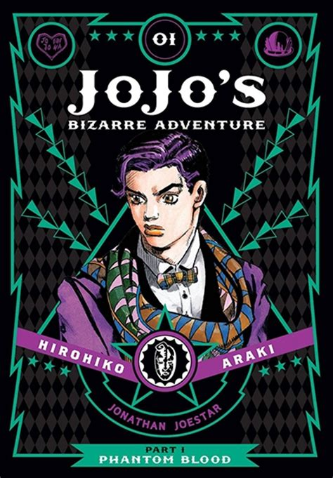 jojo s adventure part 1 phantom blood vol 1