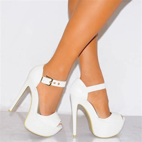 white high heels how to wear white high heels with white carey fashion