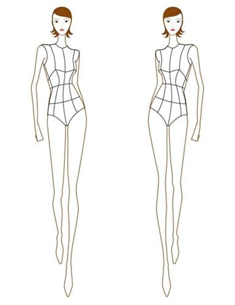 figure clothes how to fashion croquis