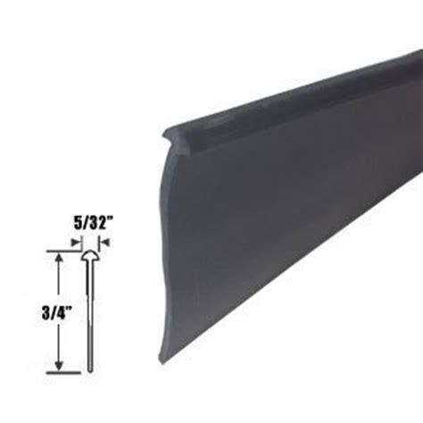 Shower Door Sweep Seal Black 3 4 Quot Half Type Shower Door Bottom Seal And Sweep 36 In