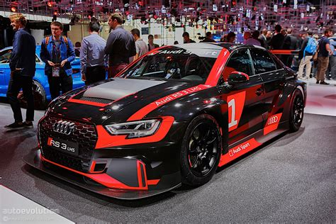 audi racing audi rs3 gets racing version becomes audi rs3 lms