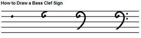 How To Draw A Bass Clef bass clef notes naming lines and spaces how to draw