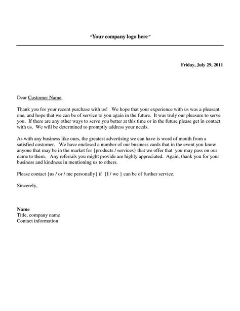 thank you letter to customer for business quindlen essays
