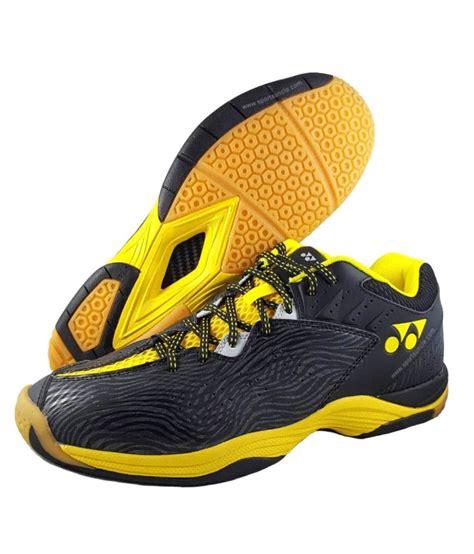 Sepatu Yonex Ergoshape Badminton Shoes Brown Yellow Yonex Tru Cushion Srcp Comfort Badminton Yellow Indoor