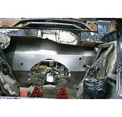 Firewall Completed On This Custom Chevy Vega  Metal