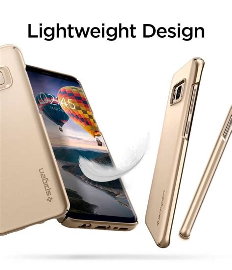 Spigen Galaxy S8 Thin Fit Maple Gold spigen 174 thin fit 571cs21674 samsung galaxy s8 plus