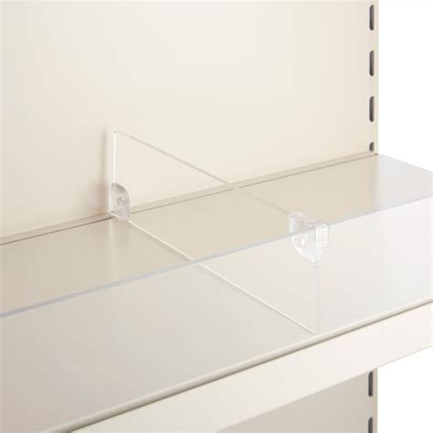 Acrylic Shelf Dividers Uk by Acrylic Shelf Divider For Retail Shelving Wall Gondola