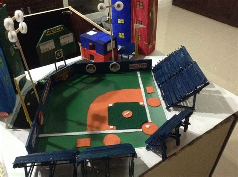 how to make a baseball field in your backyard baseball stadium project kids project pinterest