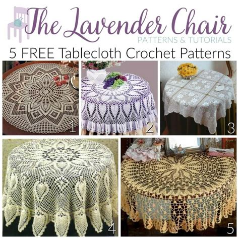 Crochet Motif Patterns For Tablecloth Part 5 How To Join tablecloth patterns brokeasshome