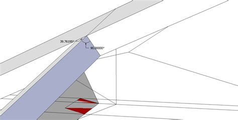 Hip Rafter Roof Framing Geometry Rotated Hip Rafters Without Backing