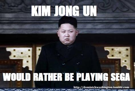 Un Meme - playing sega gallery 20 hilarious kim jong un memes