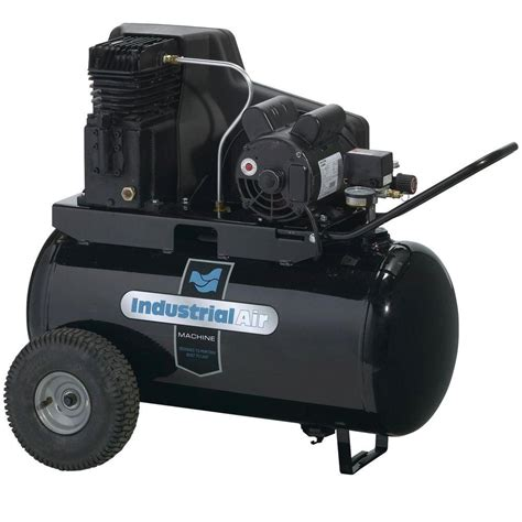 industrial air 20 gal portable electric air compressor ipa1882054 the home depot