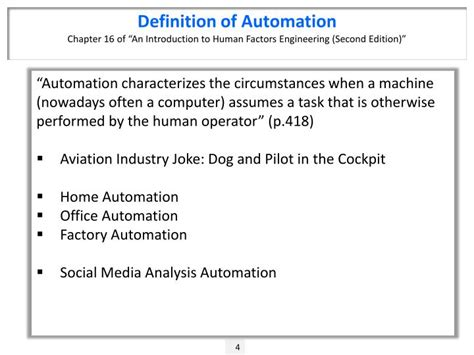 aviation automation the search for a human centered approach human factors in transportation books ppt social media scorecards chapters 07 08 of social