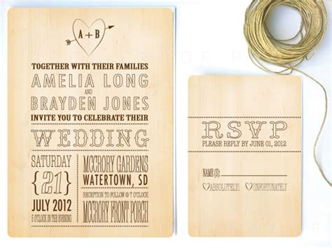 woodsy themed wedding invitations rustic wedding invitations on etsy we re obsessing