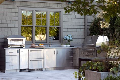 Outdoor Kitchen Modules by 30 Outdoor Kitchen Designs Ideas Design Trends