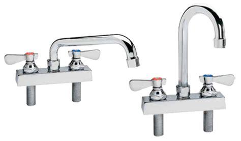 Kason Faucet by Kason Industries 0452kl4400 Series 4 Quot Deck Mount Low Profile Faucets