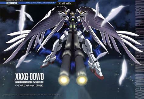 Wing Gundam gundam wing zero custom mecha file gundam wing wallpaper