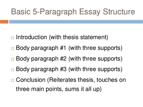 5 Paragraph Structure Essay by Paragraph Structures Essays Writefiction581 Web Fc2