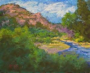 pastel landscape pastel artists international quot river quot original