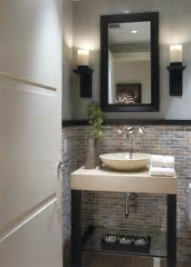 Contemporary Powder Rooms - 14 functionally decorated contemporary powder rooms