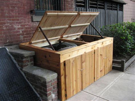 garbage  enclosure  shopdog  lumberjockscom