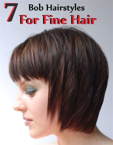7 Bob Hairstyles For Fine Hair   Style Presso
