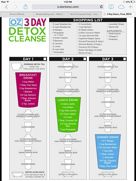 12 Smoothis Slim Detox Cleanse by My Starting Point 3 Day Smoothie Cleanse Detox Recipes