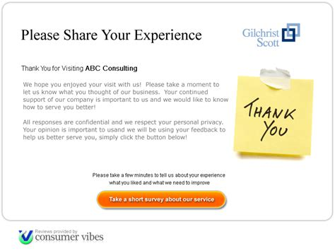 survey invitation email template consumer vibes your consumers your business your future
