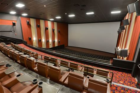 movie theater with recliners in md cinemark towson stadium seating enterprises