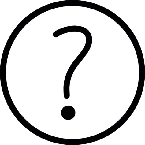 doodle poll question marks question thin doodle free signs icons