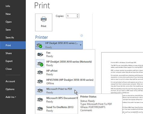 the best pdf printer forget xps files and create pdfs in windows 10