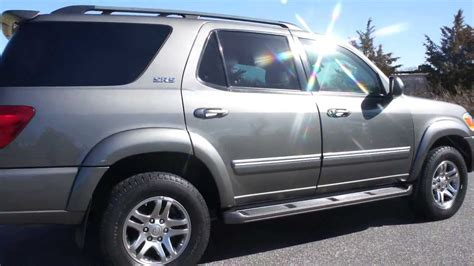 how to learn about cars 2005 toyota sequoia engine control armored 2005 toyota sequoia sr5 4x4 for sale 7 passenger