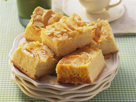 quark kuchen apfel quark kuchen mit mandeln rezept eat smarter