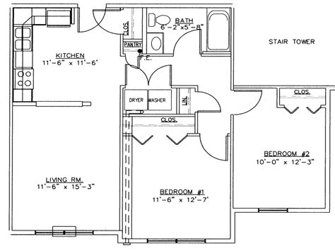bedroom floor plan with measurements 2 bedroom floor plan with measurements 28 images