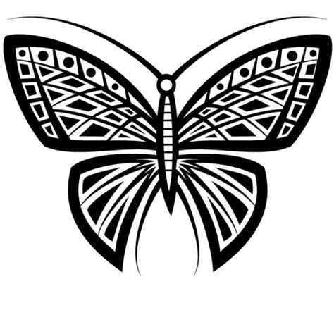 tribal decoration tattoo vector free download butterfly tattoo tribal design vector vector free download