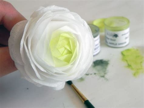 How To Make Paper Ranunculus - pin by fajardo on cake and sugar tutorials