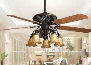 Hampton Bay Chandelier 5 Light Retro Ceiling Fan Light Fixtures Home Decorative Rustic