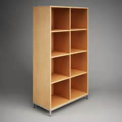 office storage shelving office storage cubby shelf unit 09 cgaxis 3d