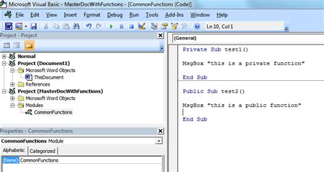centralized vba code for multiple word files stack overflow