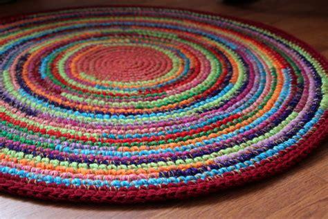 multicolor rug color burst happy multicolor crocheted rug 30
