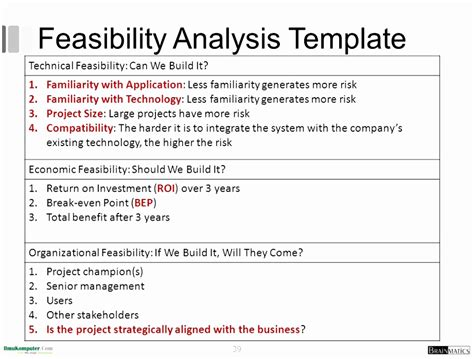 feasibility study template doc feasibility study template doc choice image template