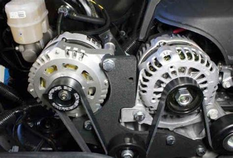ford ranger dual alternator kit