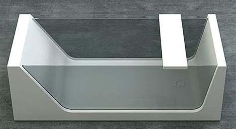 cristallo vasca da bagno vasche da bagno in vetro