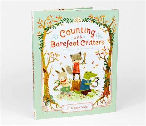 counting with barefoot critters books white counting with barefoot critters at
