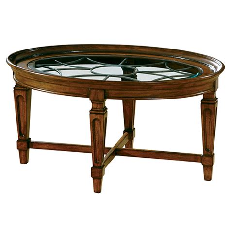 coffee table accents hekman accents metal grille coffee table