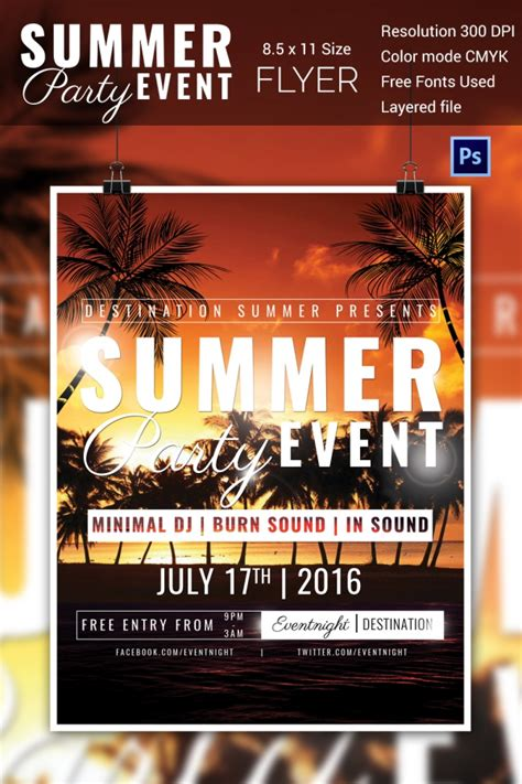 Event Flyer Template Free Online