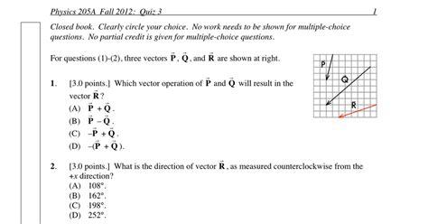 P Dog S Blog Boring But Important Physics Quiz Archive