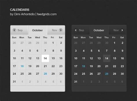 60 user interface calendar inspirations and downloads