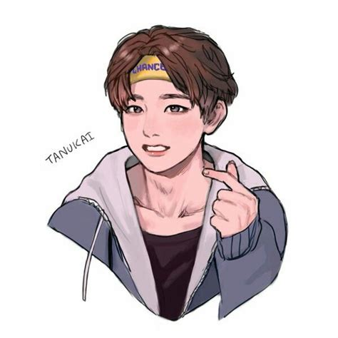 V Anime Fanart by 1188 Best Bts Images On Drawings Fan And